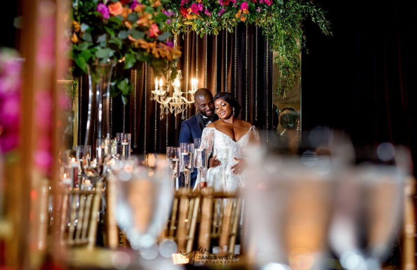Touch of Jewel Events Dallas Wedding Planner Slate Event Venue Wedding Luxury Black wedding planner dallas (8)-min